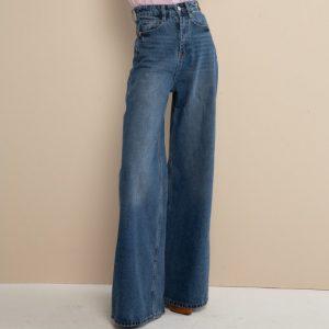 #5011 Pantalon white Azul