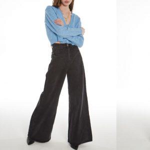 #5011 Pantalon white negro