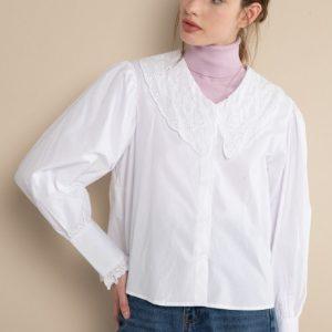 #5065 Camisa Charlote blanca